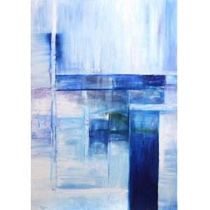 Edward Karczmarski, Blue XVIII, 2020