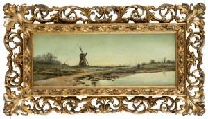 MN (I poł. XX w.), Pejzaż z wiatrakiem
