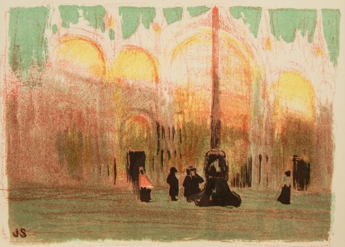 Jan Stanisławski (1860-1907), Plac Św. Marka w Wenecji