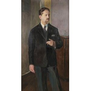 Jerzy Karszniewicz (1878 Tarnów - 1945 Kraków), Portret mężczyzny