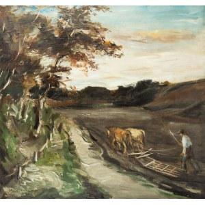 Stanisław Chlebowski (1890 Braniewo - 1969 Gdańsk), Pejzaż, 1939 r.