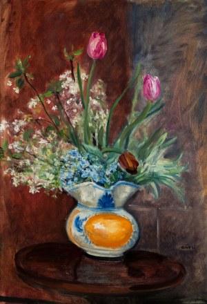 Irena Weiss zw. Aneri (1888 Łódź - 1981 Kraków), Kwiaty w wazonie