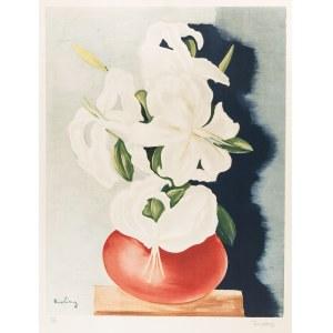 Mojżesz Kisling (1891 Kraków - 1953 Sanary-sur-Mer), Białe lilie w wazonie