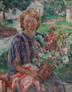Helena Teodorowicz-Karpowska (1897-1944), Portret kobiety