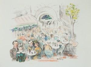 Mojżesz Kisling (1891 Kraków - 1953 Sanary-sur-Mer), Kawiarnia La Rotonde