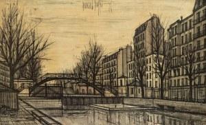 Bernard Buffet (1928-1999), Pejzaż miejski, 1956 r.