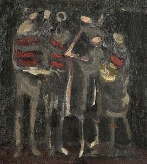 Alfred Aberdam (1894 Lwów – 1963 Paryż), Bez tytułu, 1955 r.