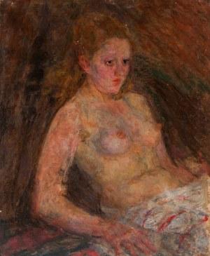 Eugeniusz Eibisch (1896 Lublin - 1987 Warszawa), Półakt kobiety