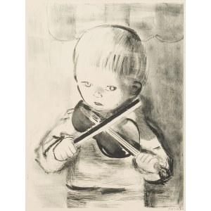 Rajmund Kanelba (1897 Warszawa - 1960 Londyn), Chłopiec ze skrzypcami