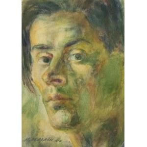 Jan Wałach (1884-1979), Portret młodego mężczyzny, 1946 r.