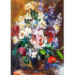 Józef Wasiołek (1921 Smarglin - 2008 Łódź), Bukiet wiosennych kwiatów