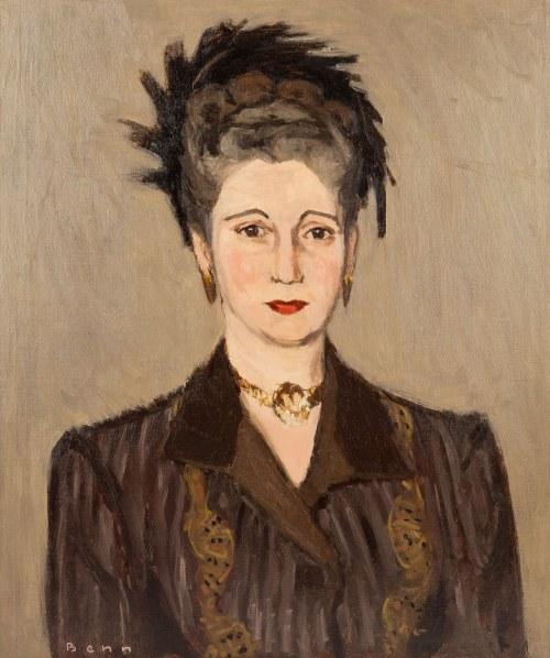 Bencion(Benn) Rabinowicz (1905 Białystok - 1989 Paryż), Portret kobiety