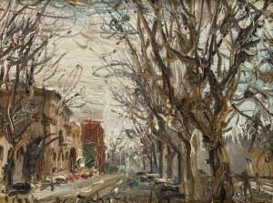 Włodzimierz Zakrzewski (1916 Petersburg - 1992 Warszawa), Rome Lugotevere, 1983 r.