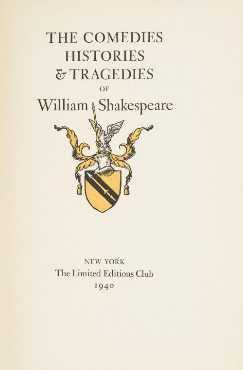 Stanisław Ostoja-Chrostowski (1897-1947), The plays of W Shakespeare