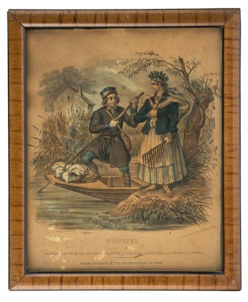 Jan Nepomucen Lewicki (1795-1871), Zestaw 12 tablic z cyklu Ubiory polskie, ok. 1838 r.