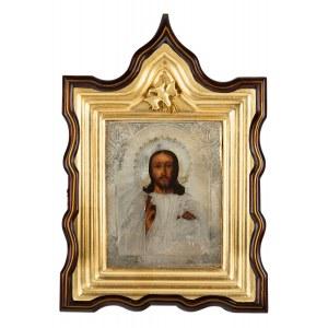 Ikona - Chrystus Pantokrator, Moskwa, 1877 r.