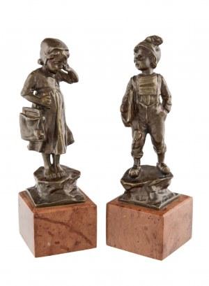 Paul Ludwig Kowalczewski (25 sierpnia 1865 Mielżyn - 9 maja 1910 Berlin), Para figurek dzieci