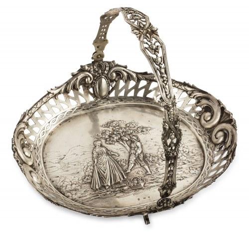 Koszyk z uchwytem, Niemcy, k. XIX w.