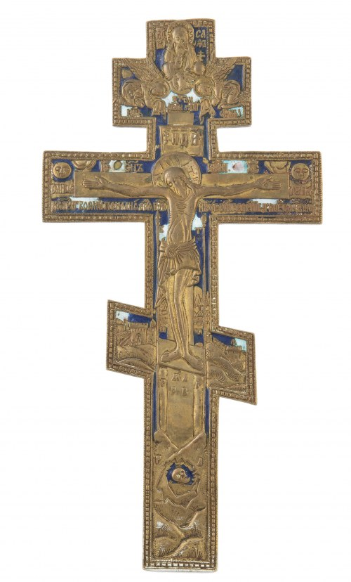Krzyż mosiężny, Rosja, XIX / XX w.