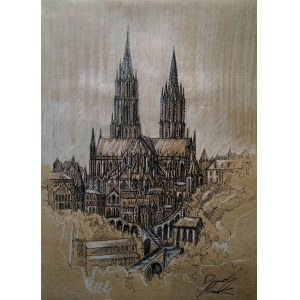 Dawid Masionek (ur. 1994), Katedra na wzgórzu, 2021