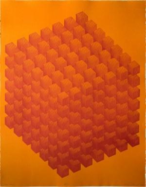 Sebastian Laszczyk (ur. 1994), Inter cubes II, 2020