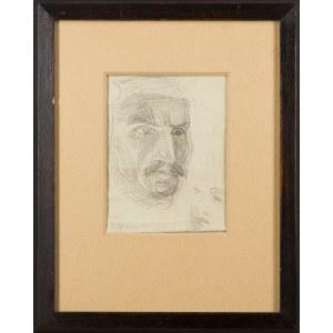 Henryk Stażewski (1894-1988), Szkic portretowy, 1945