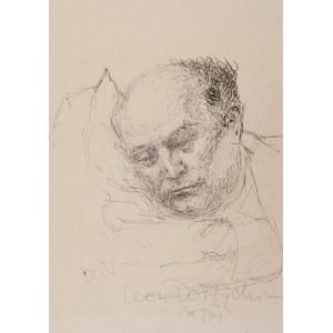 Stanisław DAWSKI (1905-1990), Leon Dołżycki śpi, ok. 1943