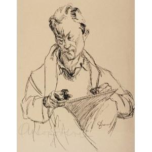 Stanisław DAWSKI (1905-1990), Autoportret, ok. 1943