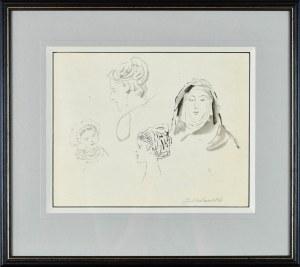 Jacek MALCZEWSKI (1854-1929), Głowy kobiet