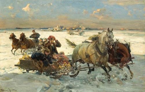 Alfred WIERUSZ-KOWALSKI (1849-1915), Sanna