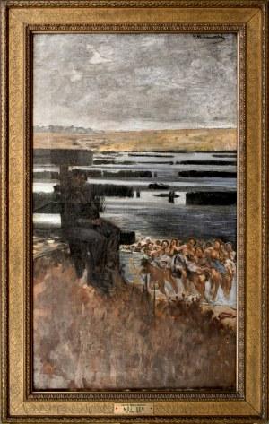 Jacek MALCZEWSKI (1854-1929), Mój sen, ok. 1896,1898