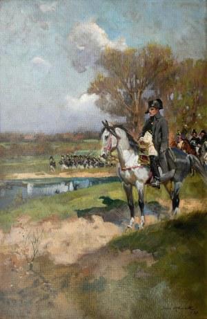 Jerzy KOSSAK (1886-1955), Napoleon na czele wojsk, 1930
