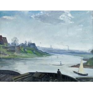 Irena WEISS – ANERI (1888-1981), Wisła pod Wawelem, ok. 1919