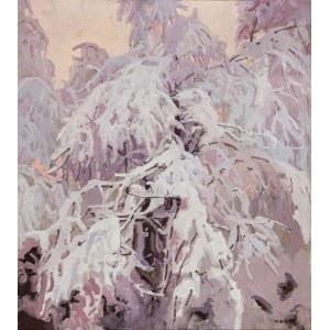 Stanisław GAŁEK (1876-1961), Zimowa bajka