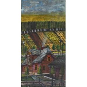 NIKIFOR Krynicki (1895-1968), Pejzaż z Krynicy