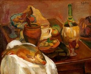 Henryk EPSTEIN (1891 - 1944), Martwa natura z rybą
