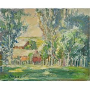 Henryk KRYCH (1905-1980), Drzewa nad wodą