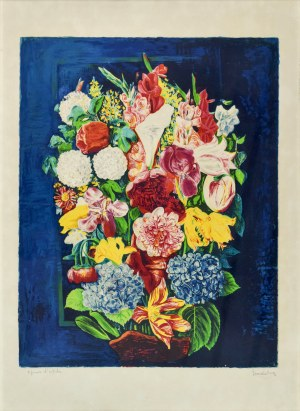 Mojżesz KISLING (1891 - 1953), Kwiaty
