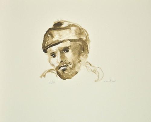 Leonor FINI (1907-1996), Głowa mężczyzny w czapce