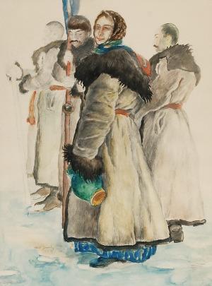 Władysław JAROCKI (1879-1965), Huculi, 1921