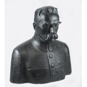 Edward WITTIG (1879-1941), Popiersie Józefa Piłsudskiego