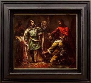 Maurycy Gottlieb (1856-1879), Scena historyczna