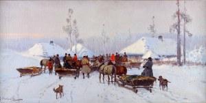 Adam Setkowicz (1876-1945), Scena rodzajowa