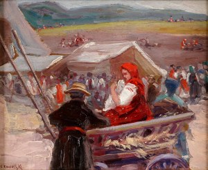 Leon Kowalski (1870 -1937), Scena rodzajowa