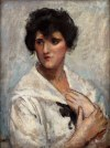 Wojciech Weiss (1875-1950), Portret kobiety