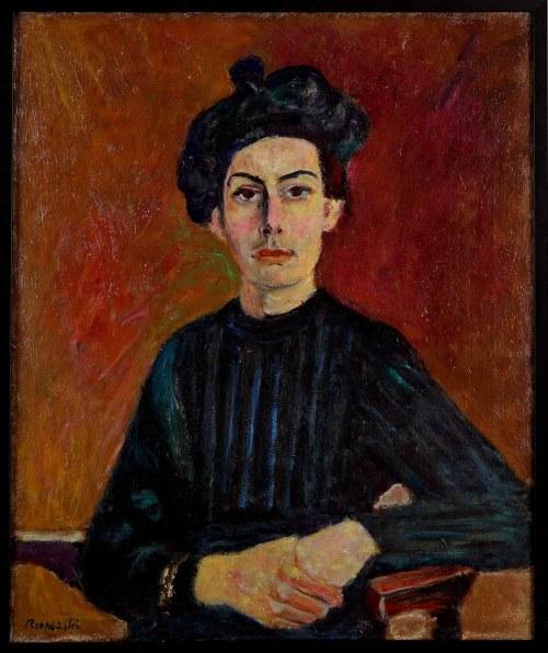 Czesław Rzepiński (1905-1995), Portret kobiety