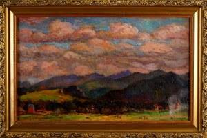 Stefan Filipkiewicz (1879-1944), Pejzaż z górami