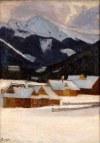 Marcin Samlicki (1878-1945), Widok z Bystrego