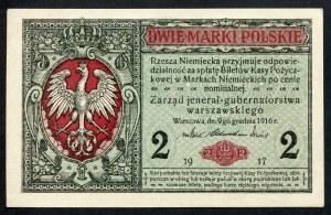 2 marki 1916 jenerał, seria A