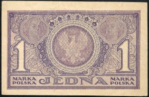 1 marka 1919 - PE -, numer radarowy 050050